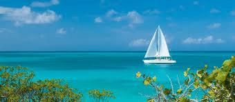Caribbean Sail boat